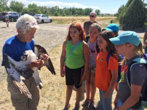 Osprey and camp kids